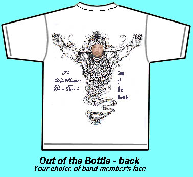 Out of the Bottle Tshirt back