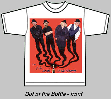 Out of the Bottle Tshirt front