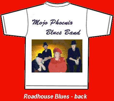 Roadhouse Blues Tshirt back