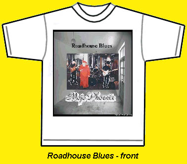 Roadhouse Blues Tshirt front
