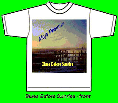 Blues Before Sunrise Tshirt front